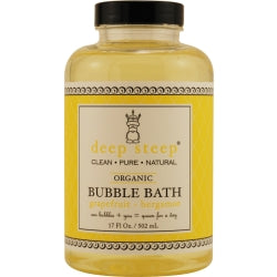 Deep Steep Grapefruit-bergamot Bubble Bath 17 Oz By Deep Steep