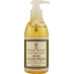 Deep Steep Rosemary-mint Organic Foaming Hand Wash 8 Oz By Deep Steep