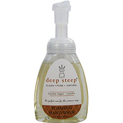 Deep Steep Brown Sugar-vanilla Organic Foaming Hand Wash 8 Oz By Deep Steep