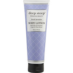 Deep Steep Fresh Lavender Body Lotion 8 Oz By Deep Steep