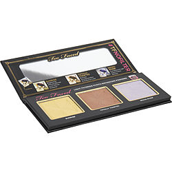 Too Faced #tfnofilter Selfie Powders Light Filtering Photo-enhancing Powders Palette (3x Powders-sunrise, Totally Toasted, Moon River) By Too Faced