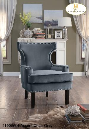 Accent Chair ( 1190BU-1 ) - Aldergrove Furniture Warehouse