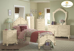 The Cinderella Collection  Bedroom Set ( 1386T-1 ) - Aldergrove Furniture Warehouse