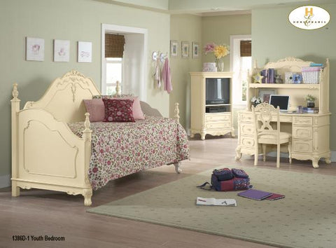The Cinderella Collection  Bedroom Set ( 1386D-1 ) - Aldergrove Furniture Warehouse