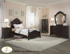 The Cinderella Collection  Bedroom Set ( 1386TNC-1 ) - Aldergrove Furniture Warehouse