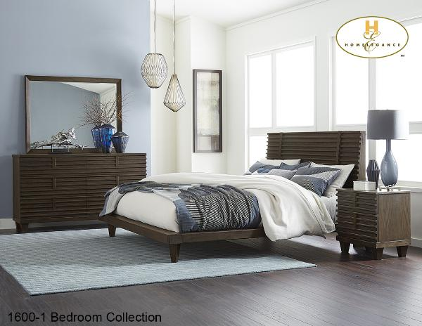 The Ridgewood Bedroom Collection (1600-1) - Aldergrove Furniture Warehouse