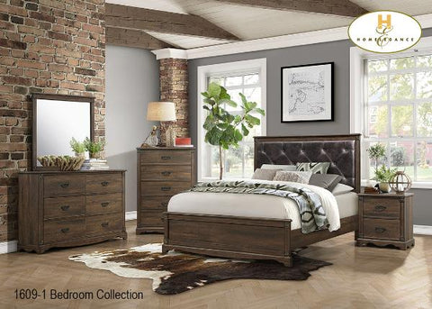 Contemporary Bedroom Collection(1609-1) - Aldergrove Furniture Warehouse