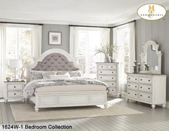 Traditional Bedroom Collection(1624WQ) - Aldergrove Furniture Warehouse
