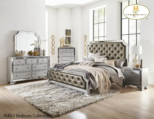 The Avondale Bedroom Collection (1646Q) - Aldergrove Furniture Warehouse