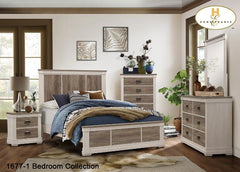 Contemporary Bedroom Collection(1677Q) - Aldergrove Furniture Warehouse