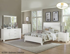 The Kerren Bedroom Collection (1678WQ) - Aldergrove Furniture Warehouse