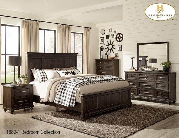 The Cardano Bedroom Collection (1689Q) - Aldergrove Furniture Warehouse