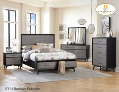The Raku Bedroom Collection (1711-1) - Aldergrove Furniture Warehouse