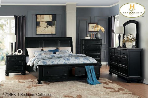 The Laurelin Bedroom Collection (1714BK-1) - Aldergrove Furniture Warehouse