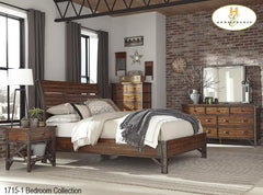 Industrial Bedroom Collection(1715-1) - Aldergrove Furniture Warehouse