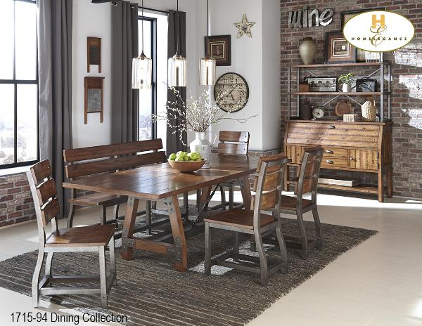 Industrial Dining Collection(1715-94) - Aldergrove Furniture Warehouse