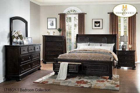 The Begonia Collection (1718GY-1) - Aldergrove Furniture Warehouse