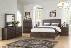 Contemporary Bedroom Collection(1769-1) - Aldergrove Furniture Warehouse