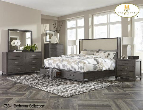 Bedroom Collection accented(1788-1) - Aldergrove Furniture Warehouse