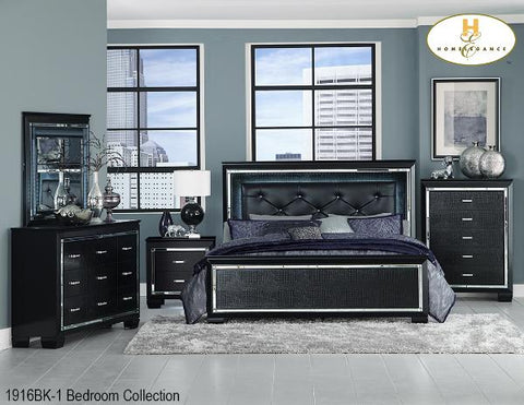 The Allura Collection (1916BK-1) - Aldergrove Furniture Warehouse