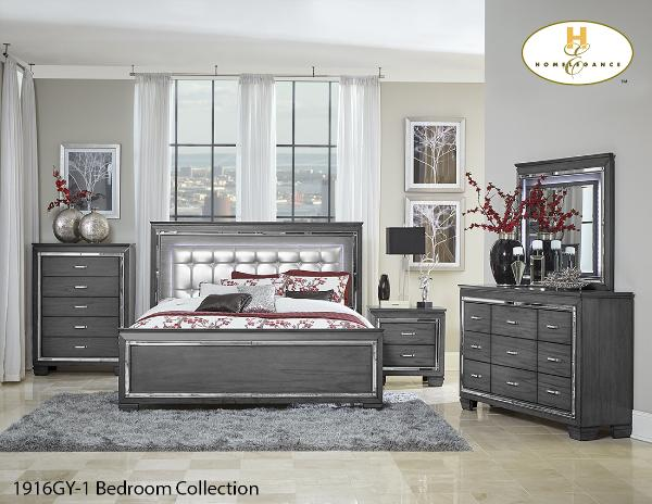 The Allura Collection (1916GY-1) - Aldergrove Furniture Warehouse