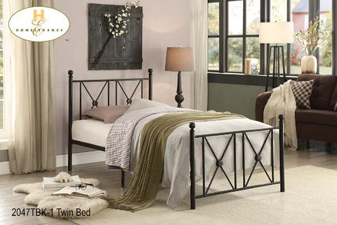 The Mardelle Collection  Bedframe ( 2047TBK-1 ) - Aldergrove Furniture Warehouse