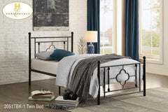 The Morris Collection  Bedframe ( 2051TBK-1 ) - Aldergrove Furniture Warehouse