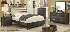 Contemporary Bedroom Collection(2141-1) - Aldergrove Furniture Warehouse