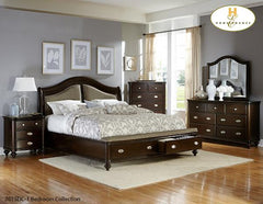 The Marston Bedroom Collection (2615DC-1) - Aldergrove Furniture Warehouse