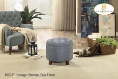 Storage Ottoman Cube ( 4500-F1 ) - Aldergrove Furniture Warehouse