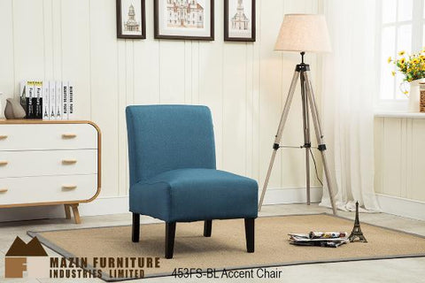 Accent Chair ( 453FS-BL ) - Aldergrove Furniture Warehouse