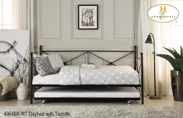 The Jones Collection  Daybed ( 4964BK-NT ) - Aldergrove Furniture Warehouse