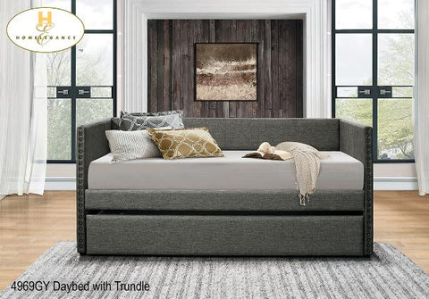 The Therese Collection  Daybed ( 4969GY ) - Aldergrove Furniture Warehouse