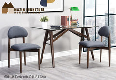 Mid Century Modern Home Office Collection ( 5011-15 ) - Aldergrove Furniture Warehouse