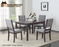 The Zacharia Collection (5165GY-48REC) - Aldergrove Furniture Warehouse