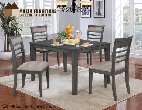 Contemporary Dinette Collection(5201-48) - Aldergrove Furniture Warehouse