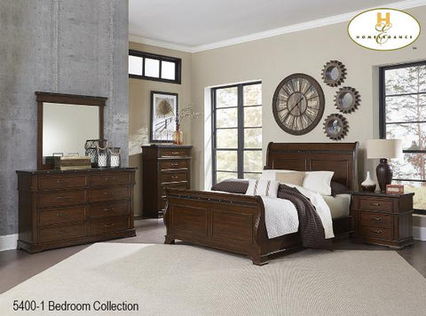 The Schleiger Bedroom Collection (5400-1) - Aldergrove Furniture Warehouse