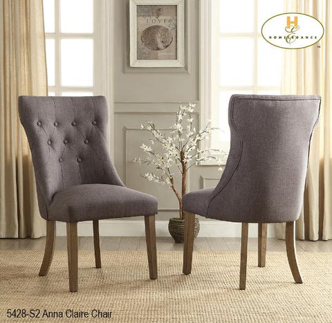 Accent Chair ( 5428-S2 ) - Aldergrove Furniture Warehouse