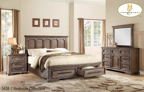 Storage Bedroom Collection(5438-1) - Aldergrove Furniture Warehouse