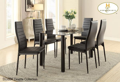 The Florian Collection (5538BK) - Aldergrove Furniture Warehouse