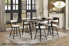 The Bistro Collection(5566-36) - Aldergrove Furniture Warehouse