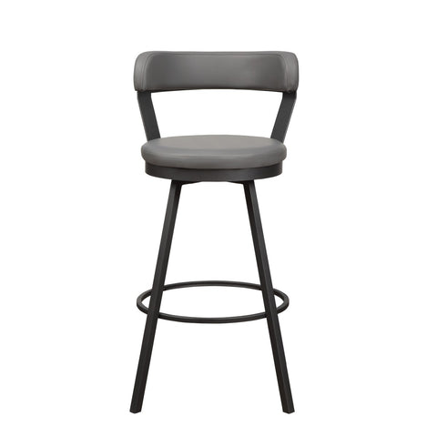 Swivel Bar Stool (Available in Black,Red,White and Gray)