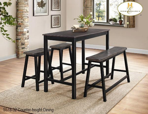 Contemporary Counter-height Dining(5578-32) - Aldergrove Furniture Warehouse