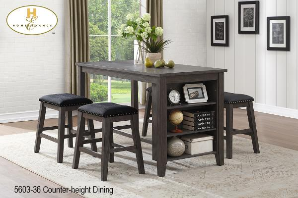 Counter-height Dining Collection(5603-36) - Aldergrove Furniture Warehouse