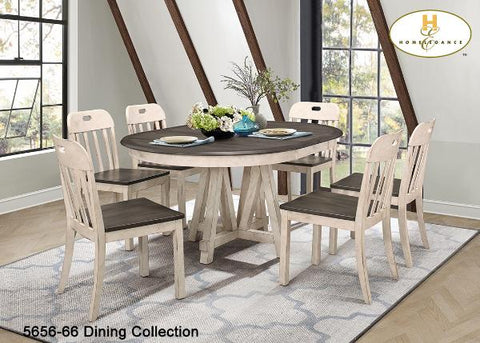 Casual Country Dining(5656-66) - Aldergrove Furniture Warehouse