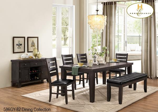 The Ameillia Collection (586GY-82) - Aldergrove Furniture Warehouse