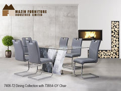 Modern Dining Collection(7406-72) - Aldergrove Furniture Warehouse
