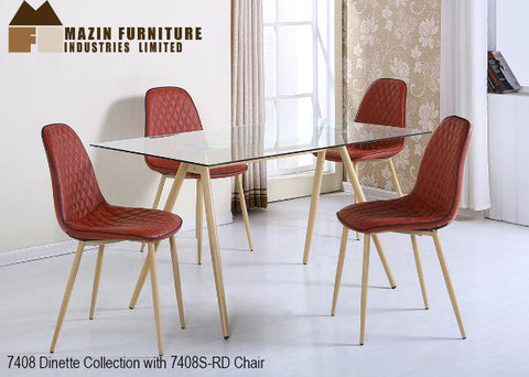 Mid Century Modern Dinette Collection(7408) - Aldergrove Furniture Warehouse