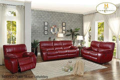 3 Pc Motion Set ( 8480RED-3PW ) - Aldergrove Furniture Warehouse