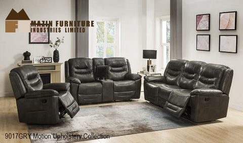 3Pc Power Motion Set ( 9017GRY-1G ) - Aldergrove Furniture Warehouse